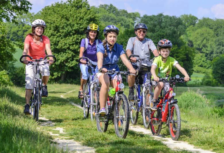Radtouren für die ganze Familie
