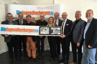 Eröffnung der Jugendherberge Wolfstein