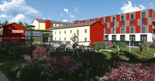 Erweiterungsbau der Jugendherberge Trier