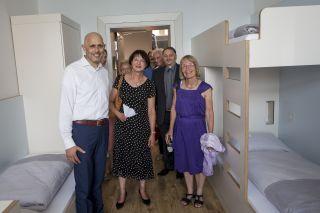 Hausführung durch die neue Jugendherberge Berlin Ostkreuz