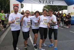 Mainzer Firmenlauf 2014 – Mitarbeiter liefen für den guten Zweck
